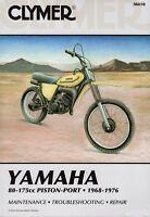 CLYMER SERVICE MANUAL YAMAHA CT3 1973, DT100 DT125 & DT175 1974-1976, GT1 1973