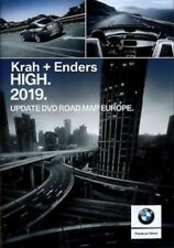 BMW Road Map Navigation HIGH 2019 DVD-1 Europa Oeste