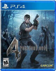 Resident Evil 4 ( PS4) Brand New Factory Sealed!!!!