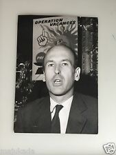 VALÉRY GISCARD D'ESTAING - PHOTO DE PRESSE ORIGINALE  18x13cm