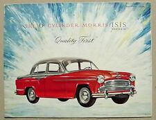 Morris ISIDE SERIE II Auto BROCHURE DI VENDITA 1957 # effettuando 5782