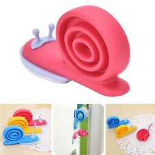 Door Stopper Holder Wedge Snail Animal Shaped Silicone Kids Safety Guard Finger