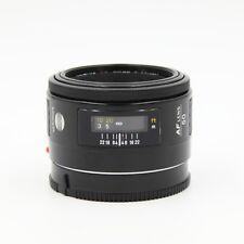 Minolta Maxxum AF 50mm f/1.7 Fast Standard Prime Lens Crossed X Early Sony Alpha