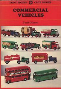 Antique Vintage Tin Heavy Metal Commercial Vehicles - Trucks Vans Busses / Book