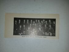Shaw Cleveland Ohio High School 1911 Football Picture