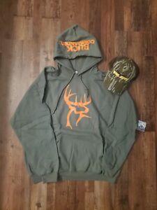 Duck Commander Buckhead XL Hoodie Wing Supply Hat Drake banded waterfowl hunting