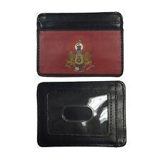 Kappa Alpha Order Slim Wallet Credit Card Case with Crest Ka