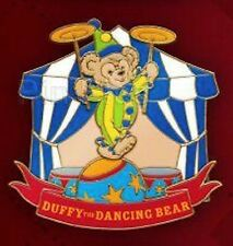 DISNEY PIN EVENT MICKEYS CIRCUS DUFFY THE DANCING BEAR LE 300 CLOWNING AROUND