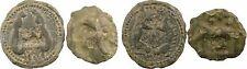 Lot de 2 monnaies celtiques : Leuques & Suessions - 46