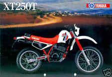 YAMAHA Brochure 1983 XT250 XT250T Sales Catalog Catalogue REPRO