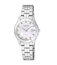 Citizen Quartz Watch EU6040-52D, Stainless Steel, 28mm Case, WR 3ATM RRP $225