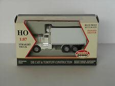 Kenworth T-600 B 18' box auto Rif., Bianco - 1:87/H0 Gauge-MODEL POWER (32100)