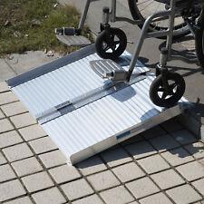 HomCom 2' Folding Portable Mobility Loading Wheelchair Threshold Ramp Handicap