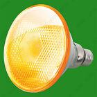 1x 80W PAR38 Yellow Coloured Halogen Flood Reflector ES E27 Light Bulb Lamp