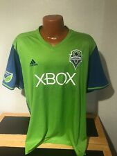 Mens Adidas Seattle Sounders FC MLS Soccer Jersey Size 2XL (XXL) XBOX