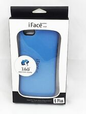 iFace Shockproof Heavy Back Skin Hard Case Cover for iPhone 6/6S Plus Blue