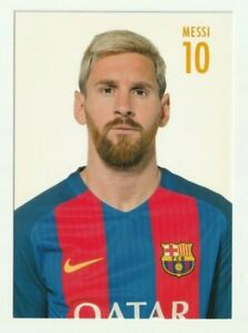 Lionel Messi - FC Barcelona - Autogrammkarte - 2016-17 - Superstar