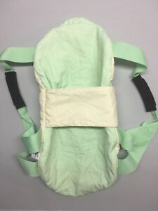 KidCo Portable Swaddle Swing Newborn - Green & White Polyester - Used
