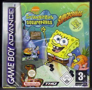 GBA Spongebob Squarepants Supersponge (2001) Brand New & Factory Sealed