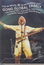 GONG GLOBAL FAMILY / Live In Brazil - Sao Paulo 2007 - Daevid Allen (DVD, NEW!)