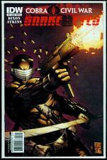 IDW Comics SNAKE EYES #2 Cover B Cobra Civil War VFN/NM 9.0