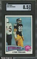 1975 Topps #282 Lynn Swann Steelers RC Rookie HOF SGC 8.5 CENTERED