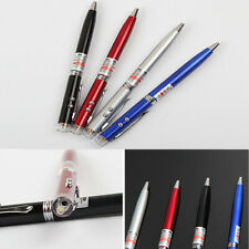 Mini 3 in 1 Red Laser Pointer LED Flashlight Lamp Ballpoint Pen Teaching Supply