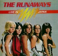 THE RUNAWAYS - LIVE IN JAPAN  CD NEW+