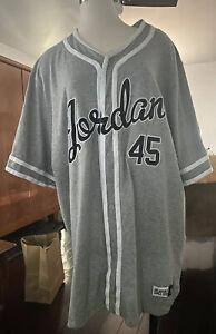 Air Jordan IX Baseball Jersey Size 3XL