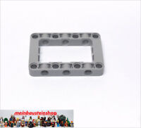 1X Lego 64179 Technic Liftarm Rahmen Verbinder Block 5X7 neues Hellgrau NEU