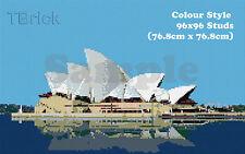 TOYBRICK - Build Your Own Custom Mosaic Art 96x96 STUDS - Colour Style
