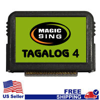 """MAGIC SING Chip """"Tagalog 4""""  - Tagalog & English Song Chip w/ SONG LIST"""