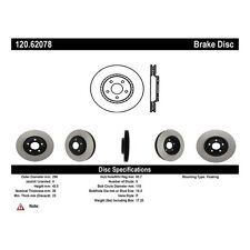 StopTech Sport Slotted Brake Disc fits 2004-2007 Saturn Ion Aura  STOPTECH