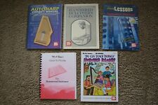 Autoharp Owner's Manual and Hammer Hammered Dulcimer Book Lot & Cds How To Play