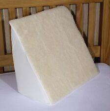 """Cojín de cama cuña de espuma con una cubierta de lana Gratis, 20"""" X 18"""" X 11"""""""