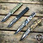 Tac-Force Spring Assisted Open Sawback Bowie Rescue Tactical Pocket Knife Blade