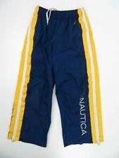 Nautica Warm Up Jogging Blue Yellow Pants Kids Small (5)