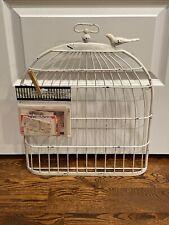 Birdcage Photo Display Memo Holder Shabby Chic French Farmhouse Wall Decor