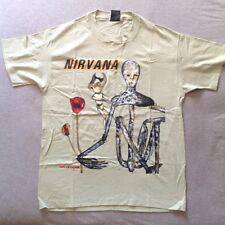 Vintage NOS NIRVANA INCESTICIDE 1993 T-SHIRT XL ORIGINA 90s Kurt Cobain tour