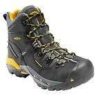 "KEEN UTILITY Men's 1007023 Pittsburgh 6"" Black Steel Toe Waterproof Work Boots"