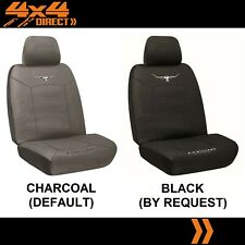 SINGLE R M WILLIAMS COTTON CANVAS SEAT COVER FOR HOLDEN F SERIES