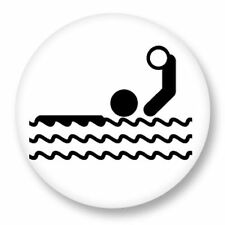 Magnet Aimant Frigo Ø38mm Picto Pictogramme Sport Game Olympic waterpolo