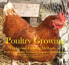 CD - Grow Your Own Poultry-Chickens - Traditional -  9 eBooks (Resell Rights)