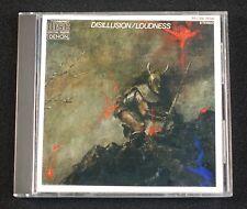Loudness - Disillusion CD  Denon 35C38-7134 Japanese Japan Pressing