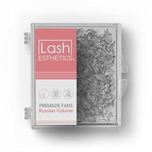 Lash Esthetics® Premade Russian Volume Fans 3D-10D Eyelash Extensions