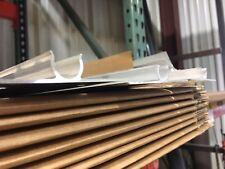 "25 - 4' EXTRUDED Aluminum Heat Transfer Plates for 1/2"" Pex Tubing"