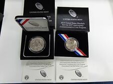 2015 US Marshals Service 225th Anniversary 2 Uncirculated Coins SILVER & CLAD