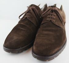 "Bruno Magli Men's Suede Leather Oxfords ""ISAAC"" Brown Shoes Size 11.5 M"