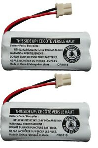 Battery BT162342/BT262342 for CS6114 CS6419 CS6719 EL52300 CL80111 Telephone 2PK