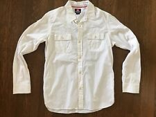 QUIKSILVER Vintage Shirt - Off White - Size M - quicksilver